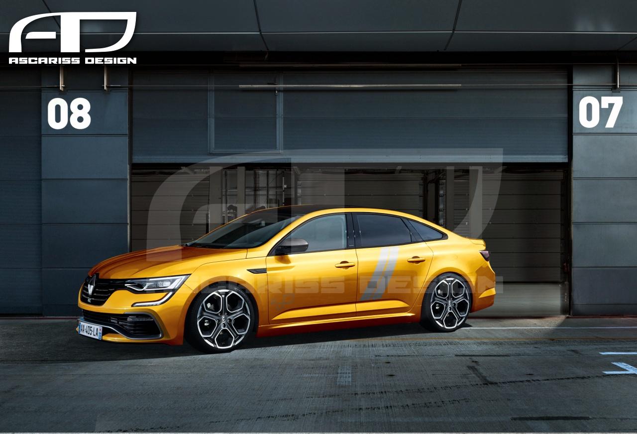 Renault Talisman Rs Ascariss Design