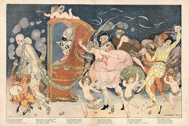 Ilustración de Gerda Wegener