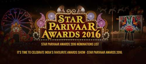 Poster Of Star Parivaar Awards 28th May 2016 Main Event 400MB HDTV 480p Free Download Watch Online Worldfree4u