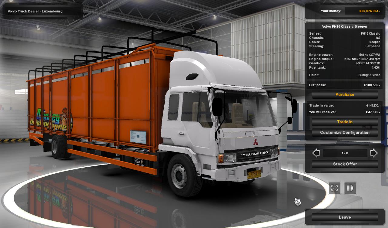 Mod ets2 Fuso-smt-v 3 - simulator mods