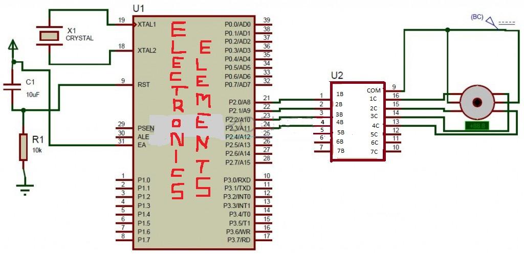 8051 pin diagram microcontroller stepper motor control using 8051 microcontroller electronics 8051 microcontroller pin diagram and explanation ppt stepper motor control using 8051