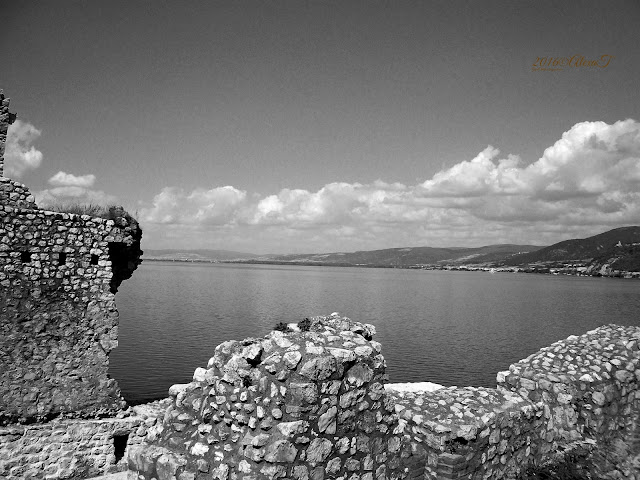 """The Golubac Fortress* (Serbian: Голубачки град or Golubački grad, Hungarian: Galambóc vára, Bulgarian: Гълъбец, Romanian: Cetatea Golubăț, Turkish: Güvercinlik Kalesi) was a medieval fortified town on the south side of the Danube River, 4 km downstream from the modern-day town of Golubac, Serbia. The fortress, which was most likely built during the 14th century, is split into three compounds which were built in stages. It has ten towers, most of which started square, and several of which received many-sided reinforcements with the advent of firearms."" Source Wikipedia"