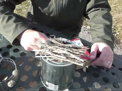Bushwhacker Wood Burning Backpacking Stove