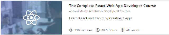 The Complete React Web App Developer Course