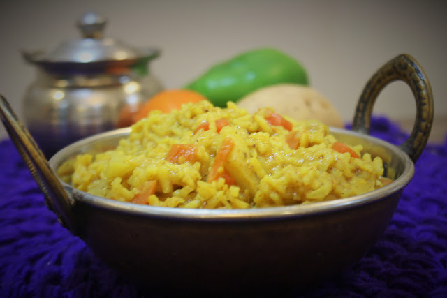 Pressure Cooked Dal Khichadi for Toddlers