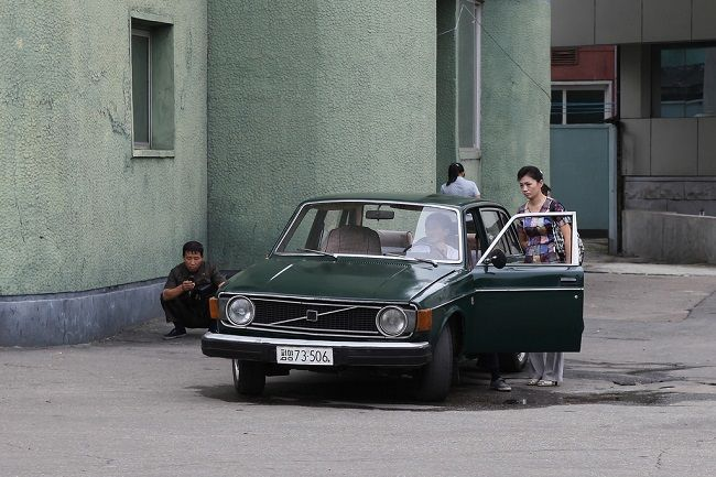 Car in North Korea