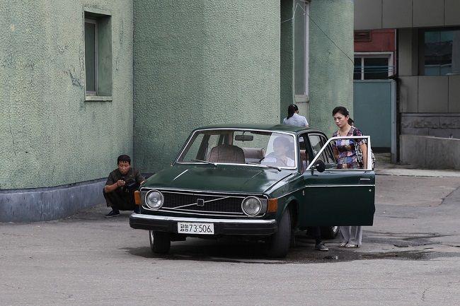 Car in North Korea