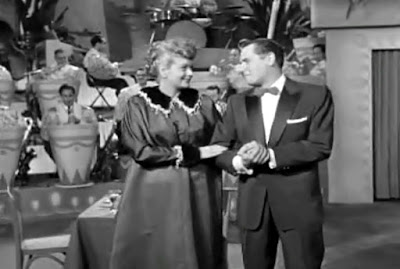 as tv specials have want to do a good portion of the show is flashbacks to better days like the time when lucy made a surprise announcement at the club - I Love Lucy Christmas