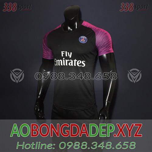 Áo PSG 2019 Training 1 Màu Đen Đẹp