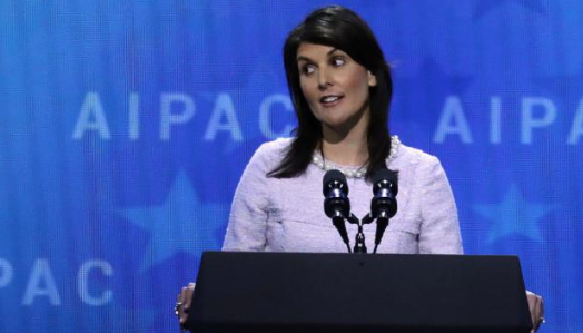 Haley: Israel getting 'bullied' by the UN