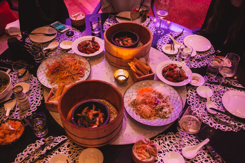 Dining at Shanghai Club Doha