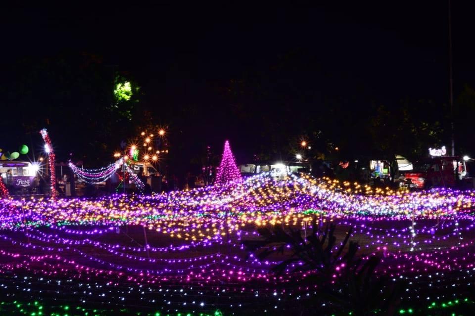 Mamanya Rakha Blogspot Wisata Taman Cahaya Lampu Pt Dahana