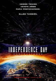 Póster en español de Independence Day Contraataque