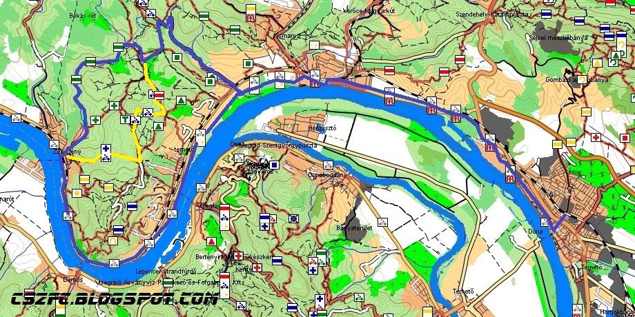 zebegény térkép Kerékpárral a Dunakanyarban és a Börzsönyben!: Vác   Verőce  zebegény térkép