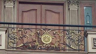 Pagar Balkon Tempa Sederhana, ukuran railing balkon railing balkon klasik gambar balkon klasik model balkon klasik