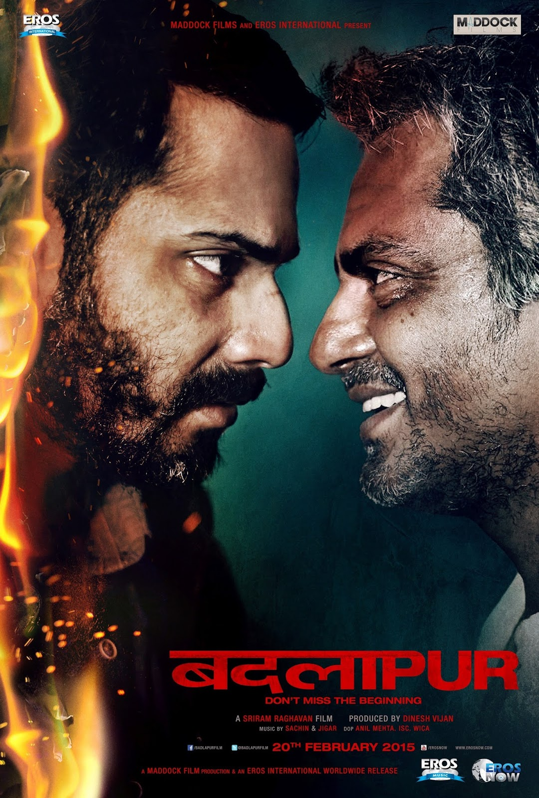 Badlapur 2015 Hindi 720p HDRip Full Movie Free Download