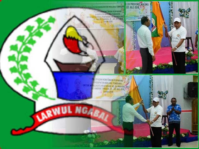 Hiyronimus Rettobjaan Lepas 36 Peserta Kontingen Pesparani Maltra ke Ambon