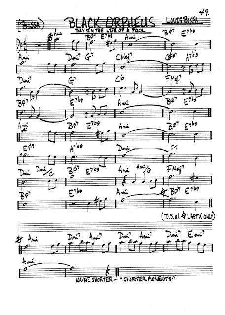 Partitura Trombón Louis Bonfa