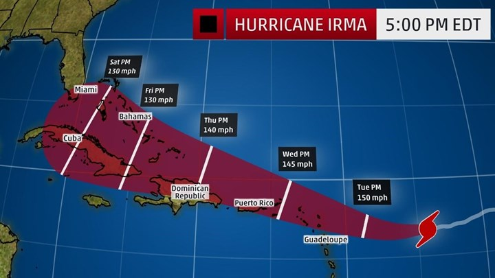 Αποτέλεσμα εικόνας για κυκλώνα Ίρμα,