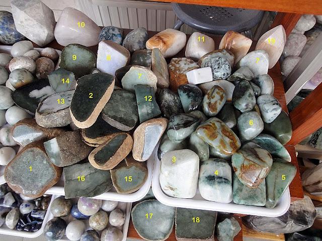 Rough jadeite jade for sale
