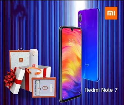 Offre Xiaomi note 7 et cadeaux gratuits