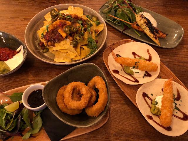 food menu at head of steam cardiff