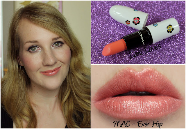 MAC Ever Hip lipstick swatch