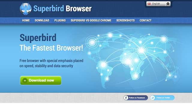 Free Download Best PC Software Superbird Fast Web Browser