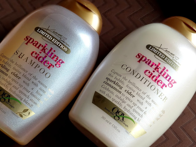 OGX x Kandee Johnson Candy Gumdrop and Sparkling Cider Shampoo & Conditioner   Limited Edition Holiday'17