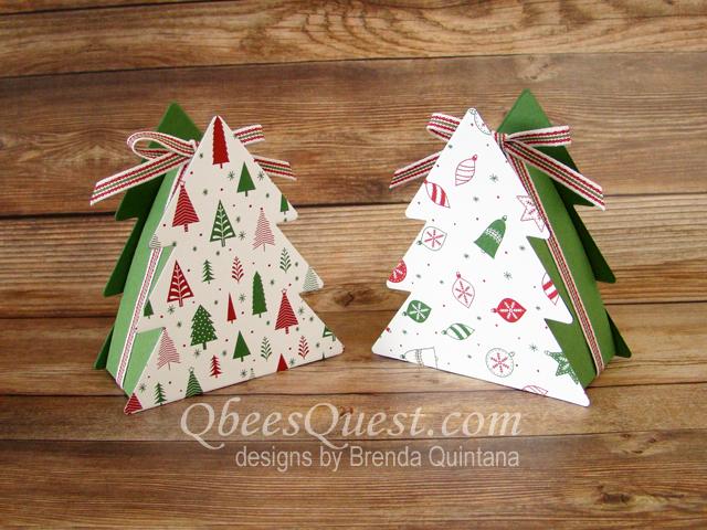christmas tree boxes tutorial - Christmas Tree Boxes