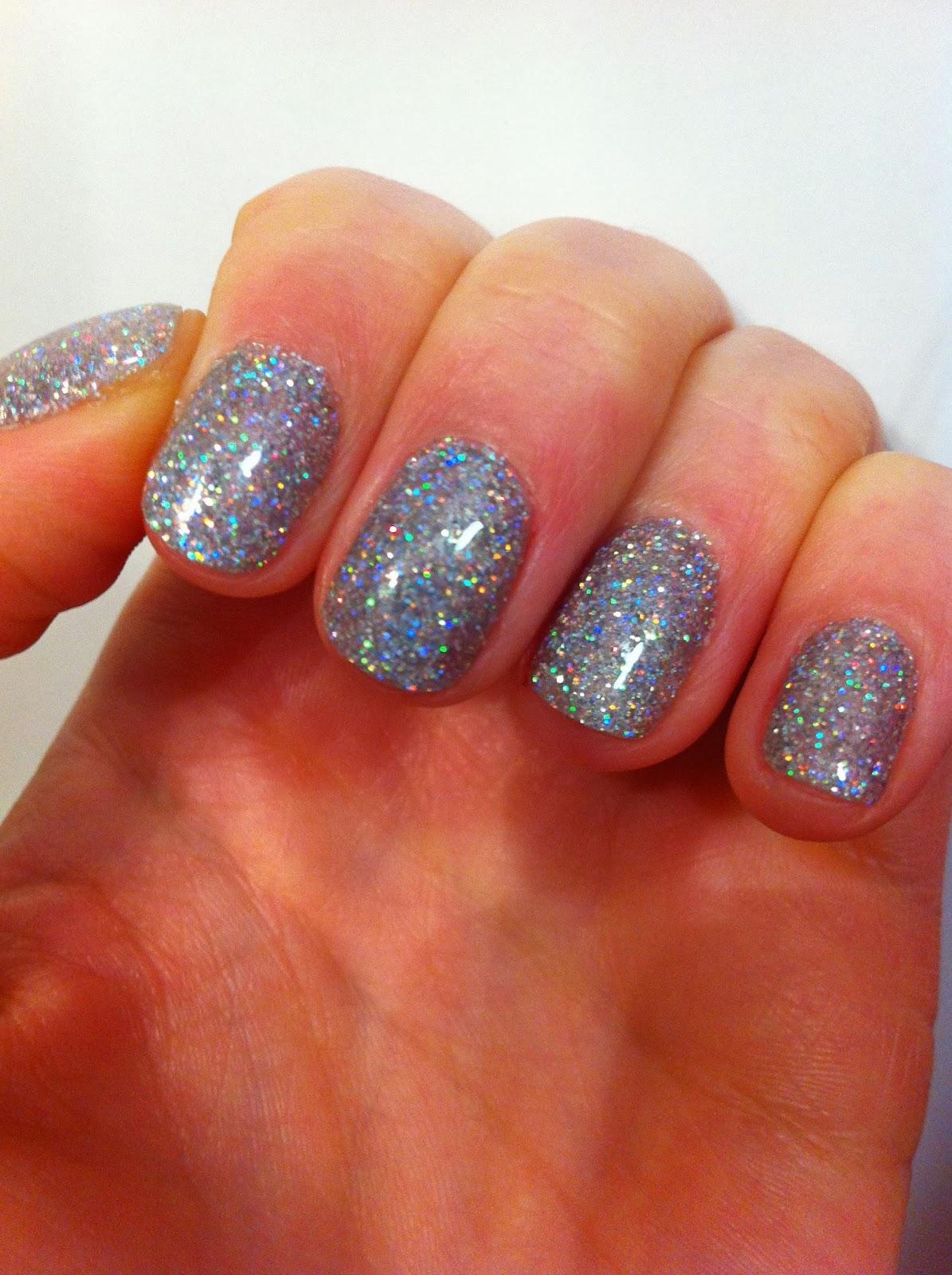 Beauty Box: Glitter Gel Manicure