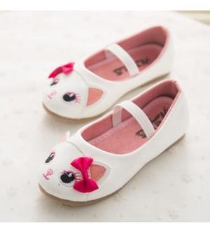 White Ribbon Cat Shoes