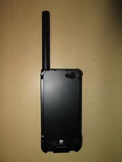 Satelit Thuraya SatSleeve Untuk Iphone 5 5S Seken Fullset Plus Perdana