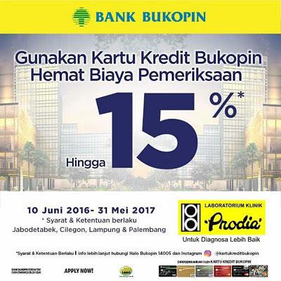 Hemat Biaya Pemeriksaan di Prodia - Bank Bukopin
