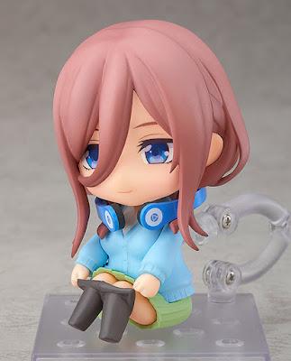 Figuras: Nendoroid de Miku Nakano de Go-Tōbun no Hanayome - Good Smile Company