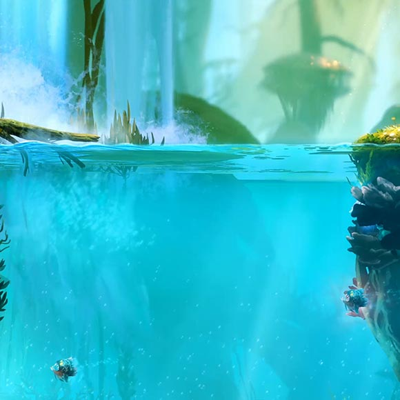 Ori Diving Wallpaper Engine
