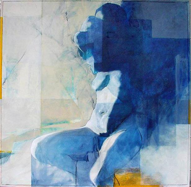 Nude - Painting - Rosemary Marchetta