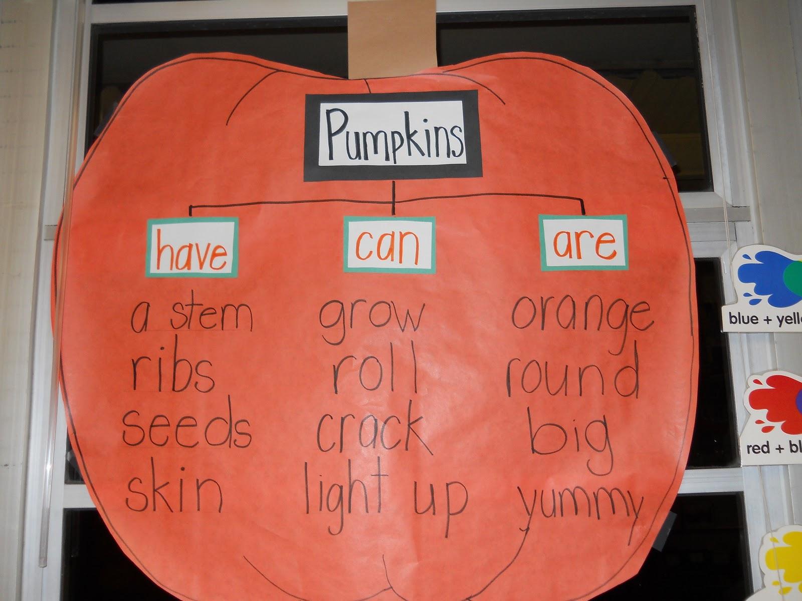 Krazy In Kindergarten Pumpkins