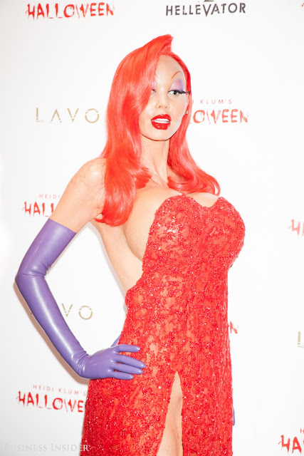 Heidi Klum Exclusive Celebrity Halloween party