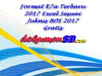 Format K7a Terbaru 2017 Excel Sesuai Juknis BOS 2017 Gratis