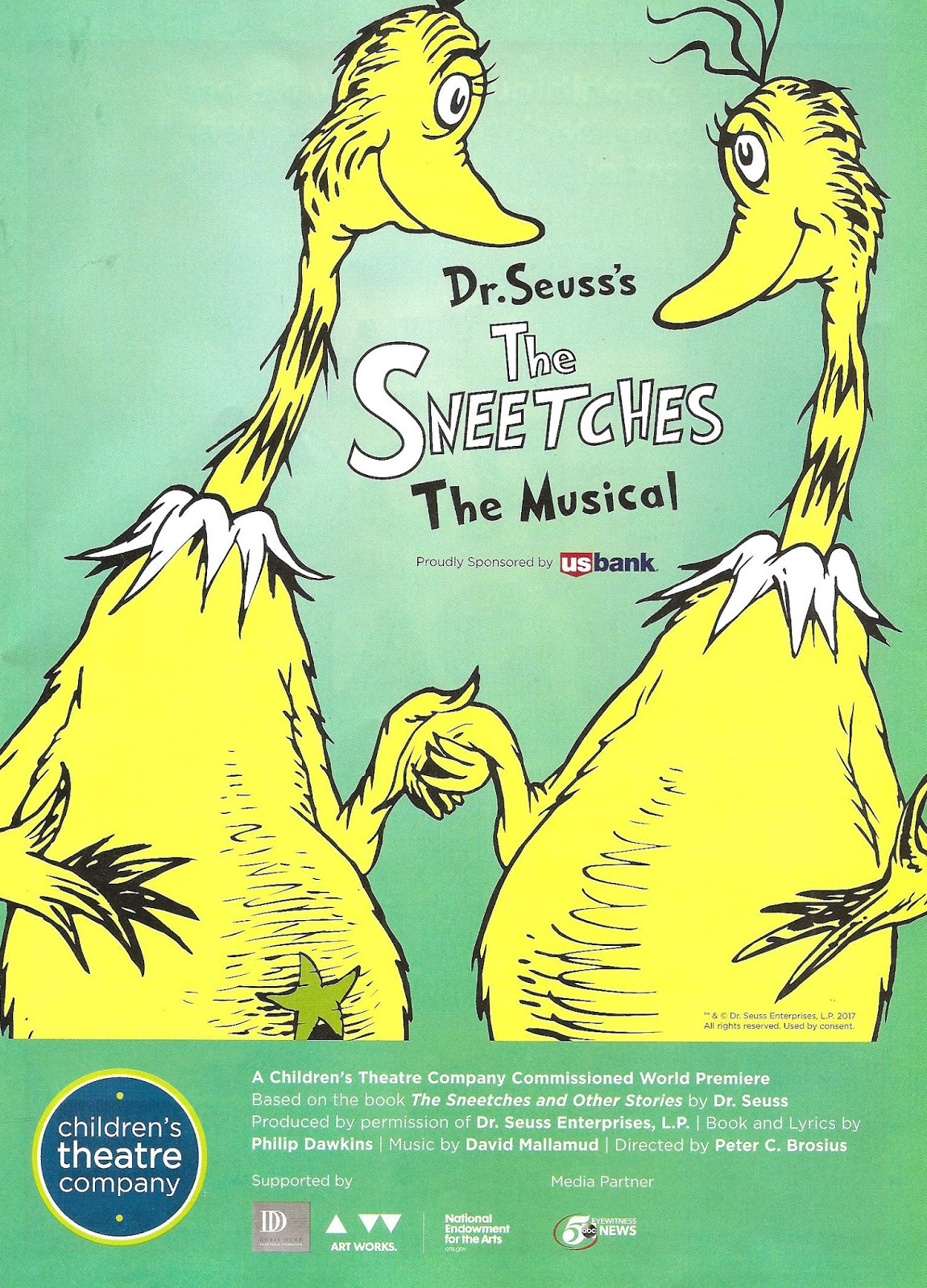 Cherry And Spoon Dr Seuss S The Sneetches The Musical