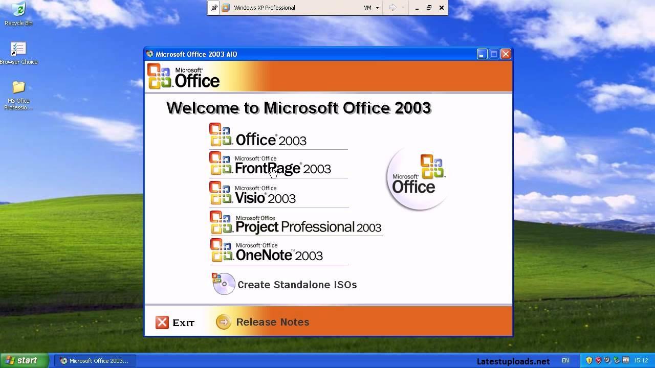 download microsoft office 2003 link never die