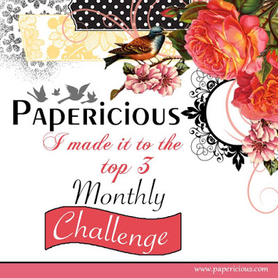 Top 3 in Papericious January Challenge