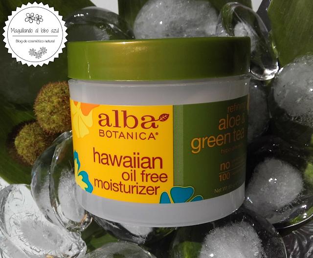 Refining aloe & green tea - alba botanica
