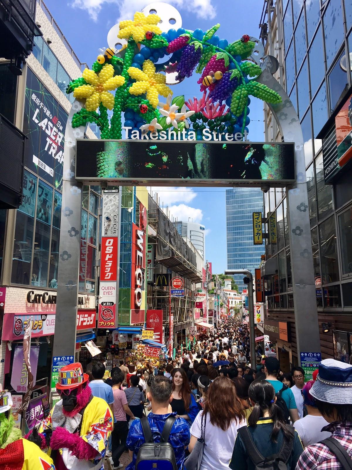 Harajuku Food Places