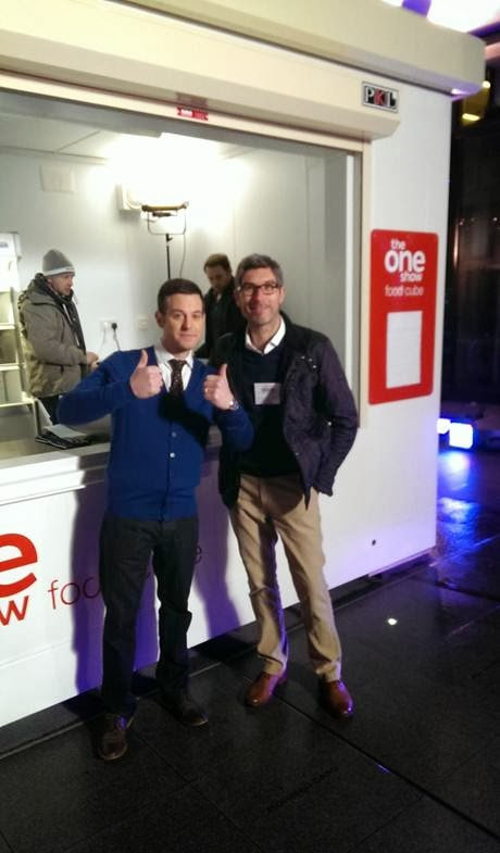 PKL Director Lee Vines and The One Show Presenter Matt Baker