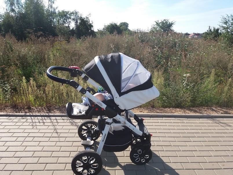 recenzja wózka: spacerówka Maximo