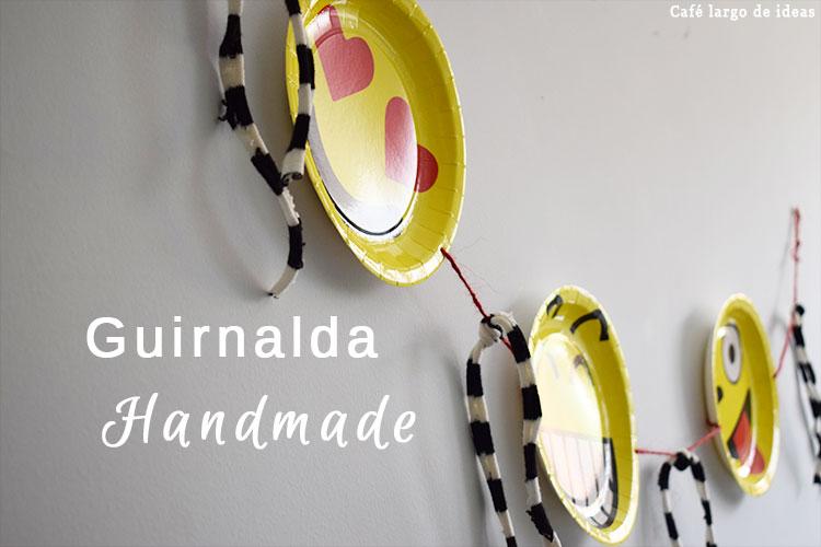 Guirnalda handmade con platos
