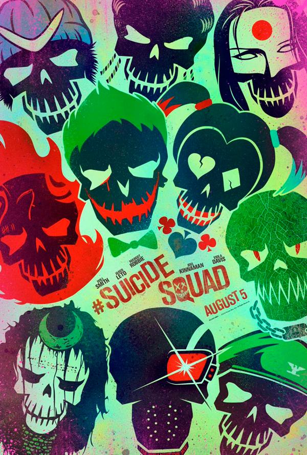 Cartel Escuadrón Suicida