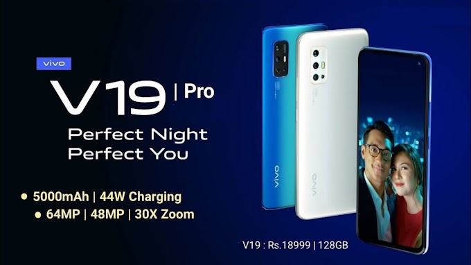 Vivo V19 Pro specifications, Features, Price in India